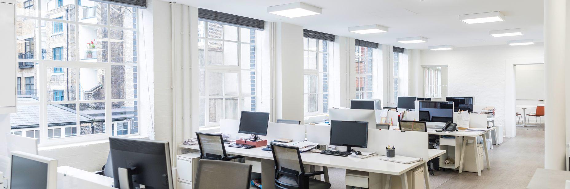 Interior shot of Swiss office