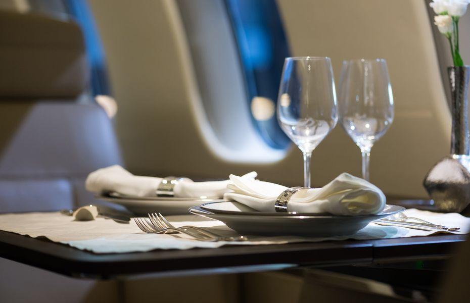 VIP in-flight catering
